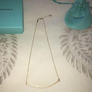 Tiffany 18k necklace.